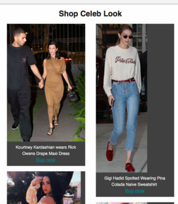 Shop Celeb Look