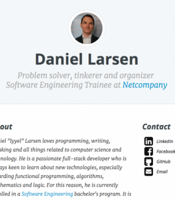 Profile picture of Personal Website